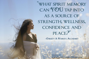 what spirit memory can YOU tap into